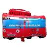 Balon Foil Karakter  Little Bus Tayo (Merah)