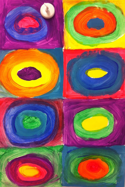 Fun With Firsties Earth Day Probability And Kandinsky
