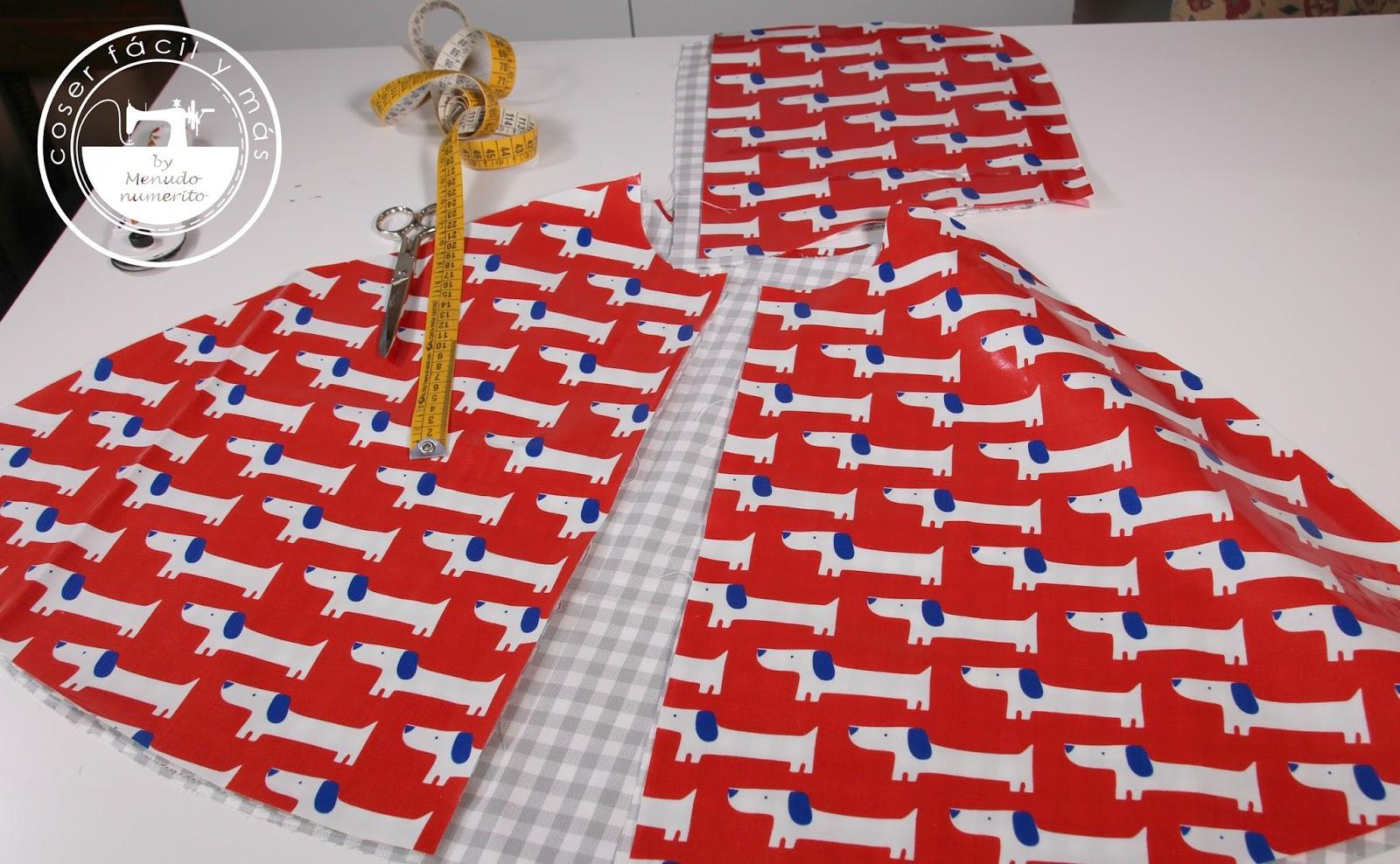 Cómo hacer una capa o chubasquero para la lluvia - Handbox Craft ...