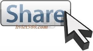 button share, chen nut chia se facebook G+ tweet