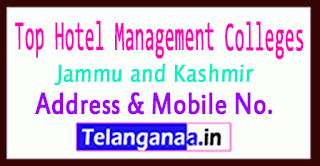 Top Hotel Management Colleges in Jammu and Kashmir