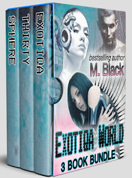 Exotiqa Box Set (3 Book Set): Enter a World between Robot and Man