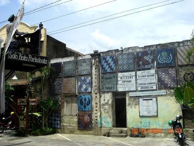 Suasana Kampung batik Laweyan