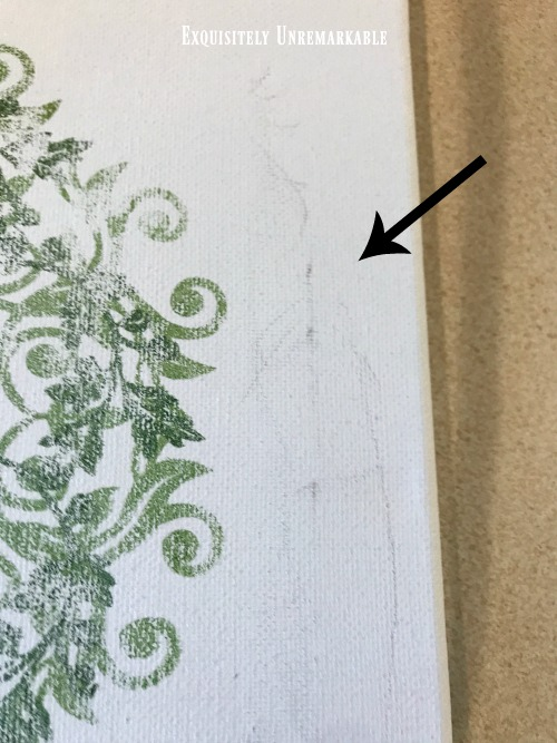 Removing Marks From Canvas
