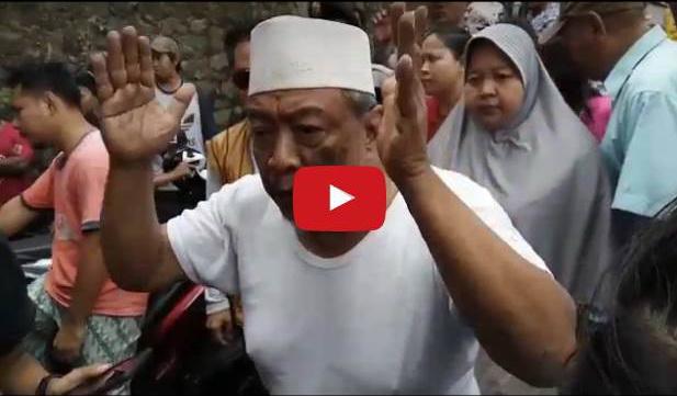 VIDEO: Ini Protes Haji Yakub Lantaran Anak Ditangkap Saat Hadang Ahok Yang Kampanye Tak Berizin