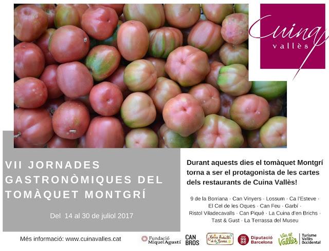 VII Jornades Gastronòmiques del Tomàquet Montgrí al Vallès Occidental
