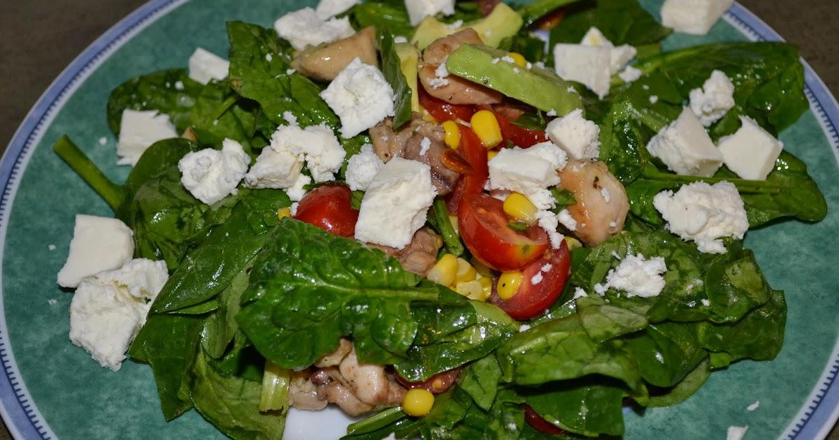 Al's Recipe Reviews: Spinach Salad with Chicken, Avocado ...