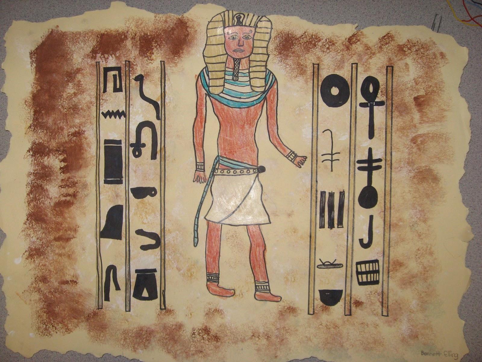 Jamestown Elementary Art Blog: 5th Grade Egyptian Friezes