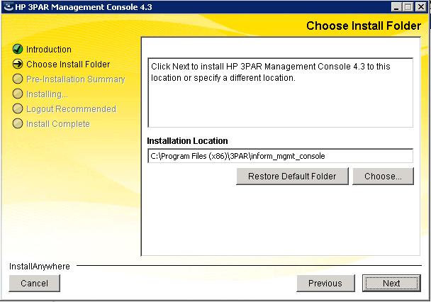 Installing HP 3PAR Management Console(IMC) |Admin Helpline