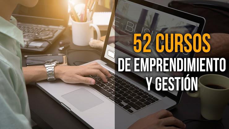 Cursos online gratis de emprendimiento y gestión