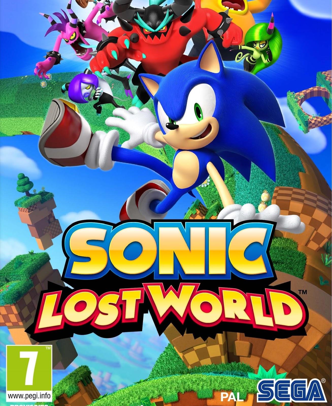 Sonic Lost World ESPAÑOL PC Full Cover Caratula
