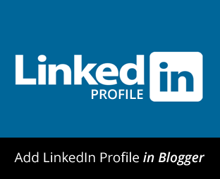 Linkedin profile no Blogger
