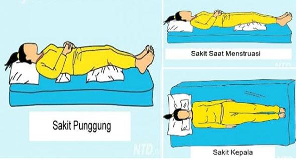 9 Posisi Tidur Ini Miliki Khasiat Ampuh Kurangi Rasa Sakit Di Tubuhmu?
