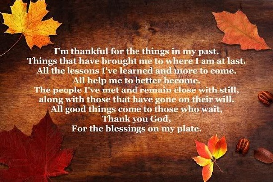 Thanksgiving Poems Prayers 2016  Best Happy Thanksgiving Songs To Say Thank You
