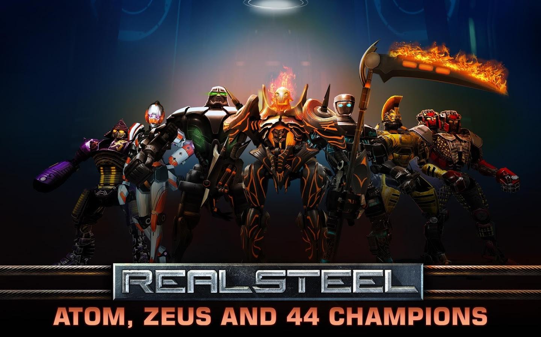 Image Result For Real Steel Game Mod Apk