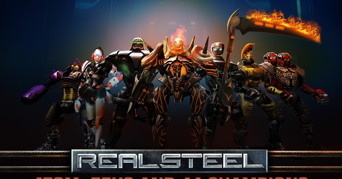 real steel apk+data gratis