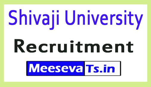 Shivaji University Recruitment