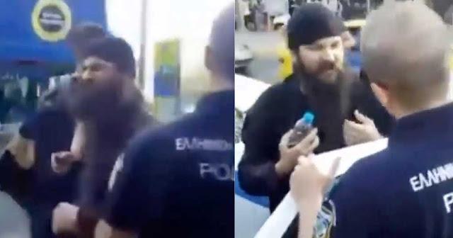 Συνέλαβαν τον πατέρα Κλεομένη επειδή διαμαρτυρήθηκε για το Athens Pride