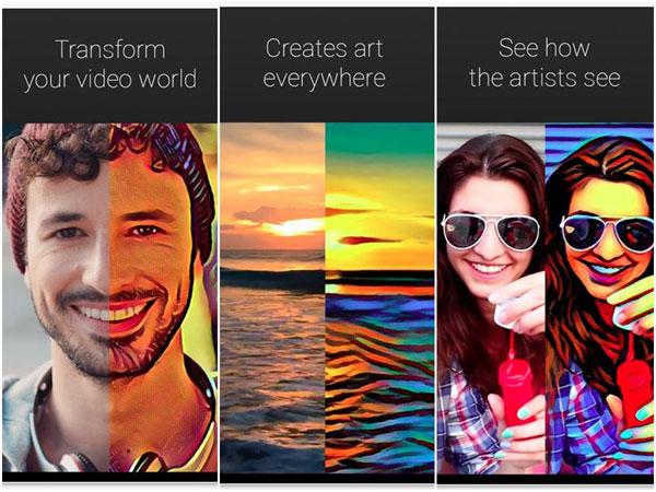 تطبيق artisto لاضافه التاثيرات على الفيديو للاندرويد والايفون