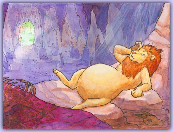 KWStoryTimes_LionAndTheCrowKidsStory