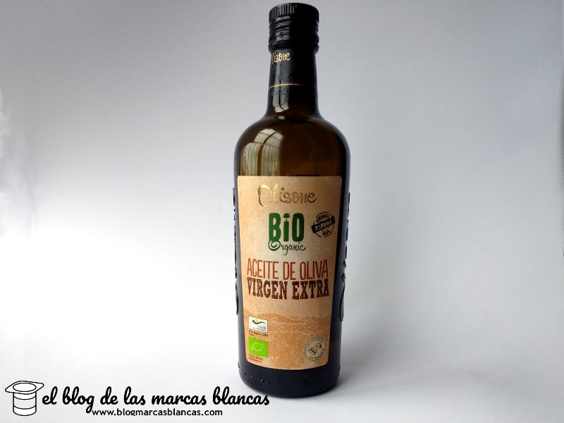 Aceite de oliva virgen extra OLISONE BIO ORGANIC de Lidl.