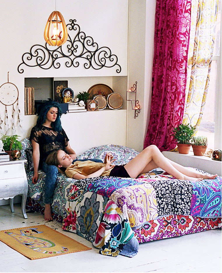 Boho Chic Bedroom: Breakfast At Fayme's: Home Decorating Inspiration; Boho Chic