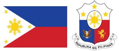 Bendera dan Lambang Negera Filipina
