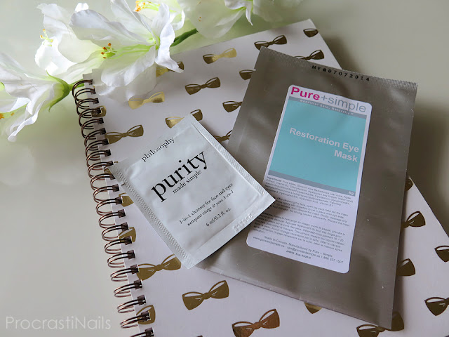Review of Philosophy Purity Made Simple 3-in-1 Cleanser and Pure+Simple Restoration Eye Mask