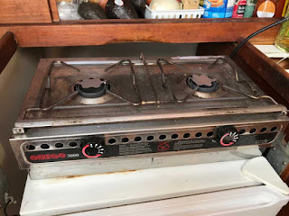 boat stove