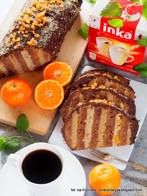 krem inkowy, krem makowy, inka, kawa zbozowa, ciasto karmelowe, ciasto z kremem, polewa czekoladowa, ciasta swiateczne, smak swiat, zapach swiat, swiateczne aromaty, boze narodzenie, przepisy na swieta