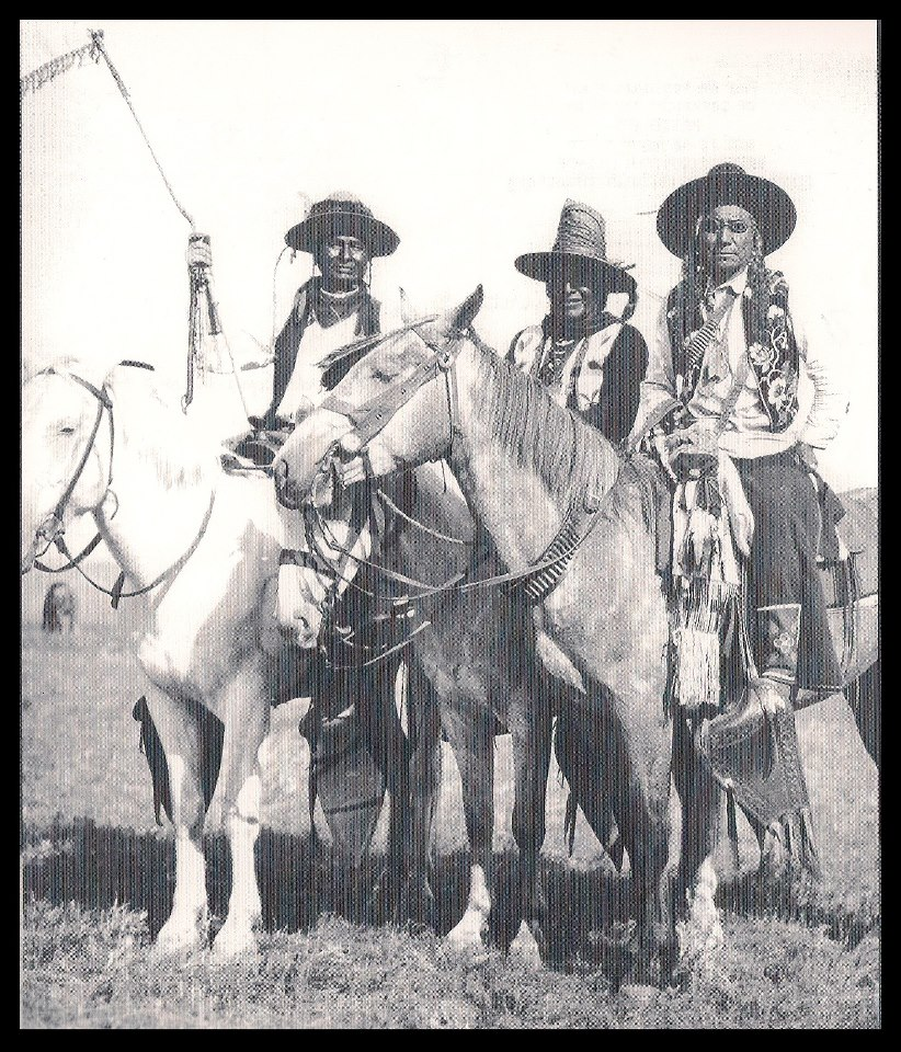 Angela Swedberg Indian Buffalo Hunter Indian Cowboy Purse