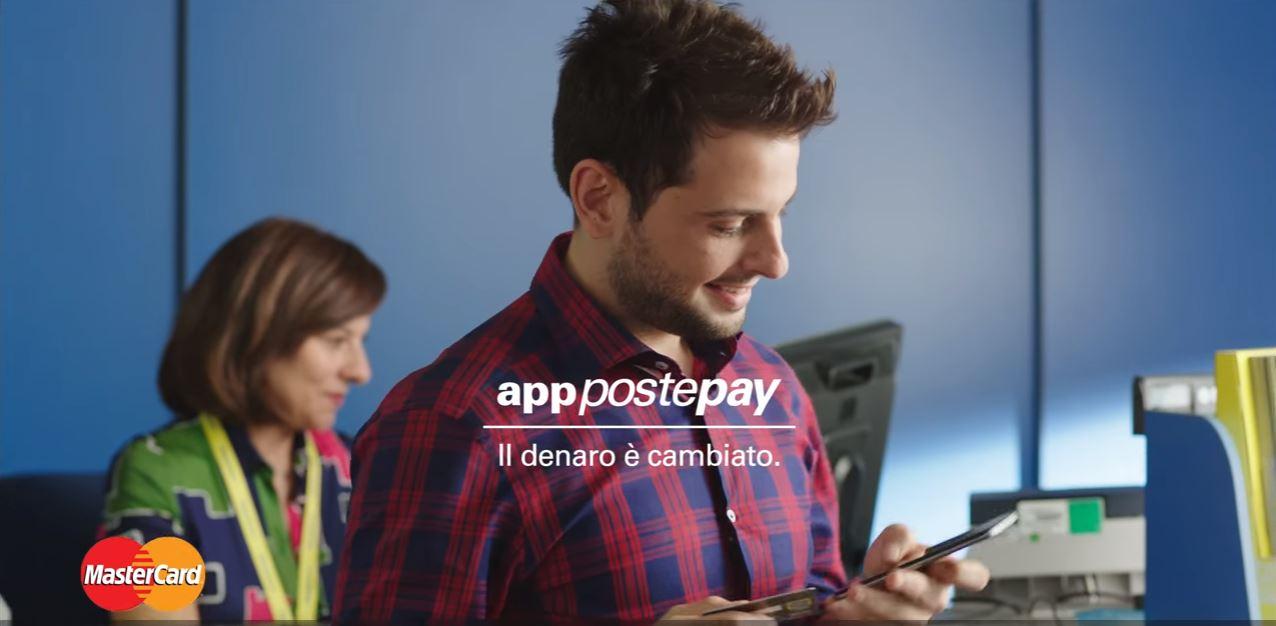 Canzone Pubblicità nuova app Postepay