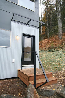 Two bedroom prefab home