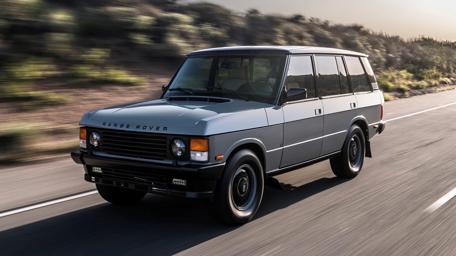 Automotiveblogz: ECD Range Rover Classic: First Drive 2018