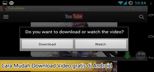 Cara Mudah Download Video Gratis Di Android