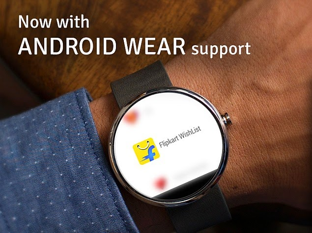 Flipkart  Wearable Support