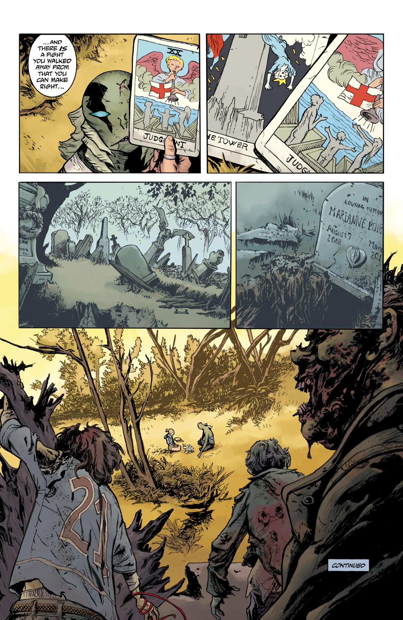 Read online Abe Sapien comic -  Issue #20 - 24