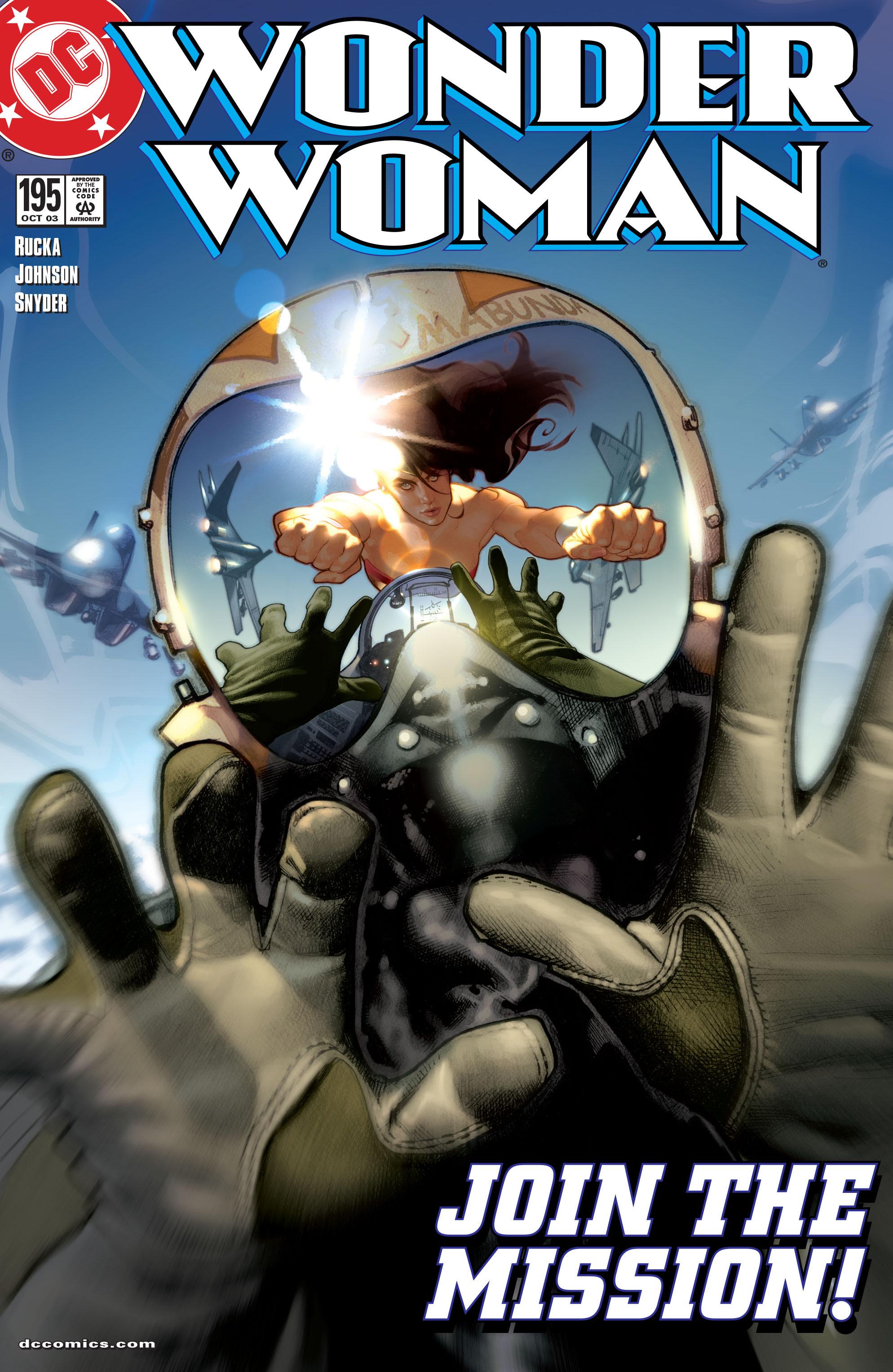 Read online Wonder Woman (1987) comic -  Issue #195 - 1