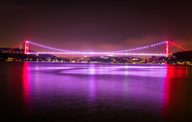 bosphorus night view