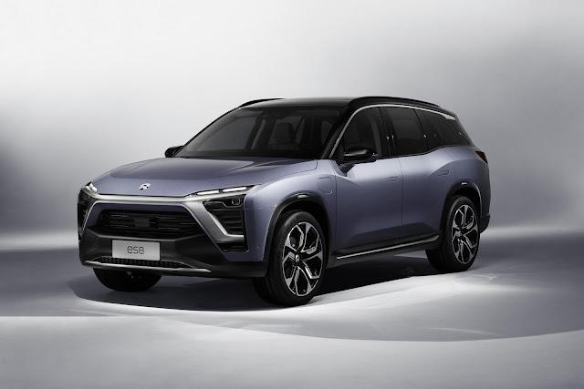 2017 NIO ES8 Electric SUV - #NIO #Electric #SUV #concept_car