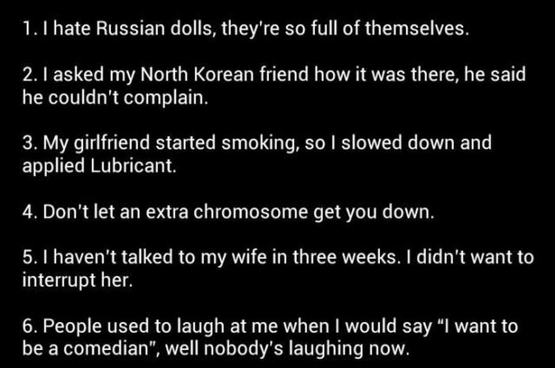 Chucks Fun Page Best Oneliner Jokes Ever Thats The Claim - 21 best one line jokes ever