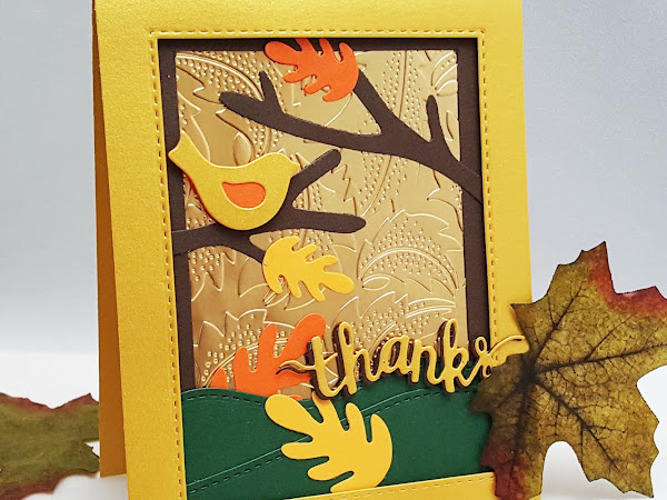 Thank You Card For Fall