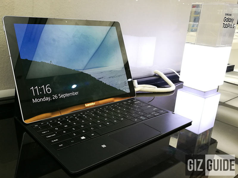 Samsung Galaxy TabPro S Laptop / Tablet Officially Now In PH, Retails For 55990 Pesos