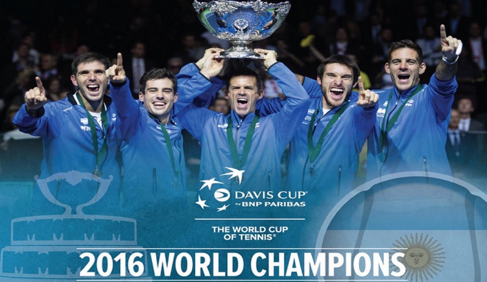 ARGENTINA DAVIS CUP CHAMPIONS 2
