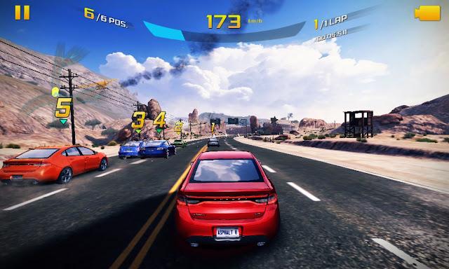 لعبة asphalt 8 للكمبيوتر و النوكيا و الاندرويد