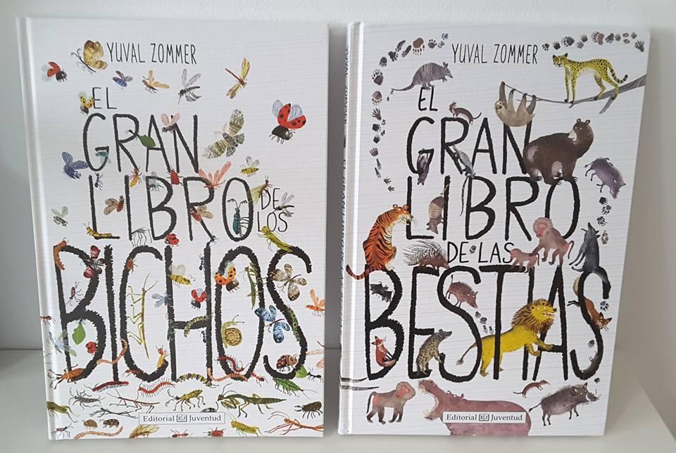 Creciendo con libros y juegos: EL GRAN LIBRO DE LOS BICHOS Y EL GRAN ...