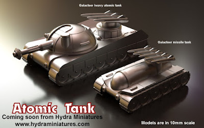 Atomic Tank by Hydra Miniatures