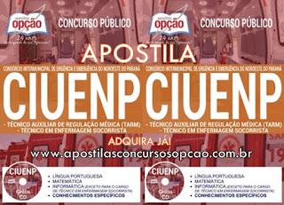 Apostila Concurso CIUENP - Samu Noroeste do Paraná
