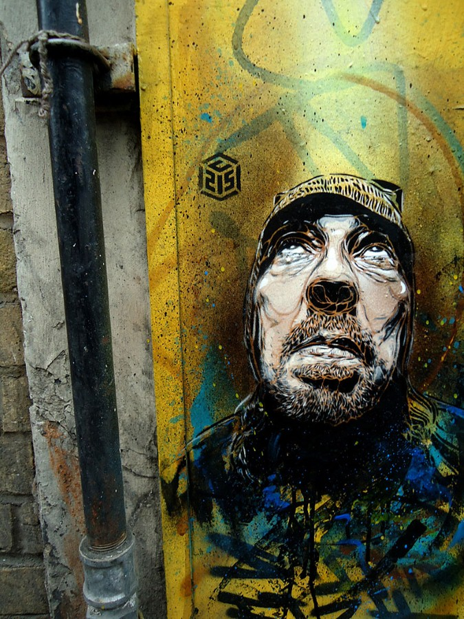 Уличное искусство Кристиана Гуеми (Christian Guémy aka C215) 47