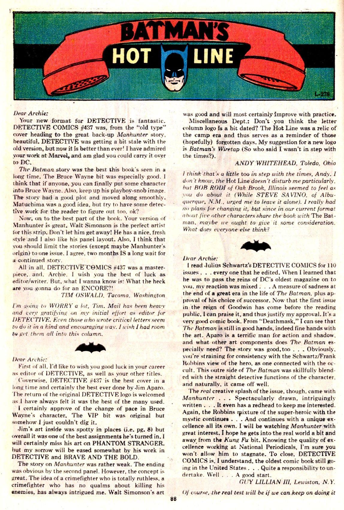 Detective Comics (1937) 439 Page 87